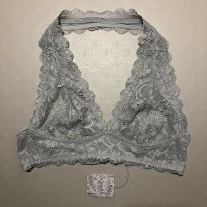 Intimately Free People Galloon Lace Halter Bra